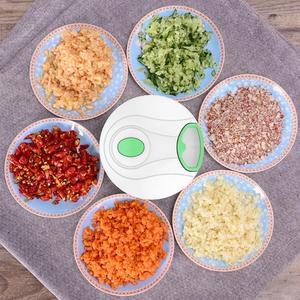 Manual Food Chopper Pull String Vegetable Chopper Fruits Nuts Onions Chopper, Hand Pull Mincer Blender Mixer Food Processor