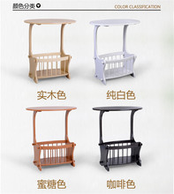 Eco-friendly fibreboard tea table Side tables Multipurpose Coffee Tables with Storage rack Living Room Furniture