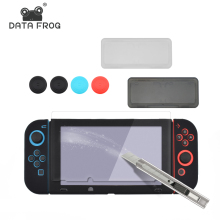 8 in 1 HD Tempered Glass Screen Protector for Nintend Switch