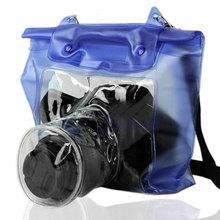 Waterproof DSLR SLR Camera Underwater Housing Case Pouch Dry Bag For Canon For Nikon сумка для видеокамеры 5pcs canon nikon slr dslr