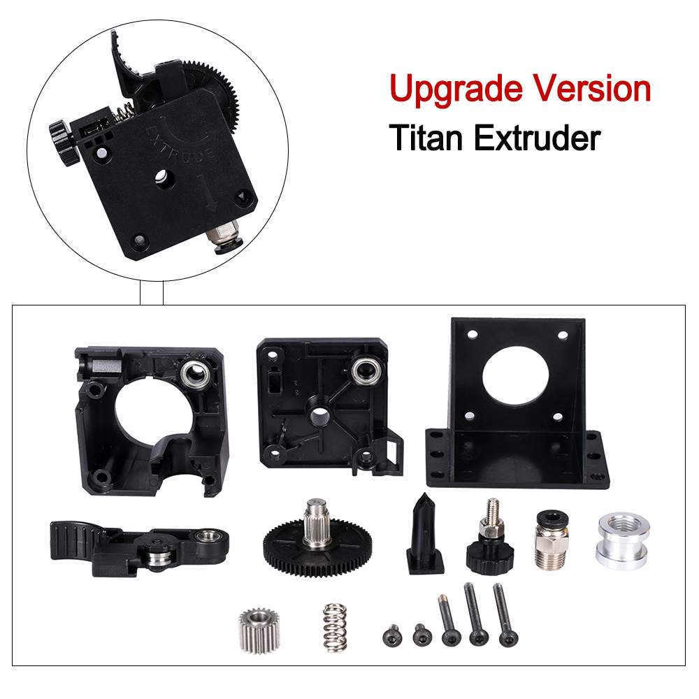 BIGTREETECH Titan extrusora plenamente Kits de Titan para extrusora de 1,75mm + Nema17 paso a paso Motor + V6 Bowden extrusora para 3D piezas de la impresora