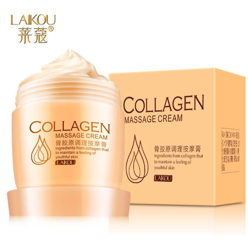LAIKOU Hydrating Massage Cream Collagen Whitening Exfoliating Deep Exfoliating Cleansing Oil Balance Cream Cream Skin Care TSLM1