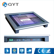 "All in one pc 17"" touch screen 1280*1024 industrial tablet pc 4gb ddr3 32g ssd 2RS232/4USB with intel i3-3217U 1.9GHz"
