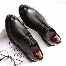 b2ffe94a3 DESAI обувь Для мужчин Корейский Модные Остроносые Повседневное Для мужчин  обувь сезон: весна–лето осень-зима кожаные туфли Бизн..