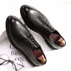 Image 1 - DESAI 靴男性韓国のファッションとんがりカジュアル紳士靴春夏秋冬レザーシューズビジネス予告なく変更、削除