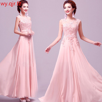 b63fdff7c HJZY115F   pedrería y bordado rosa azul vestidos de dama de honor de la  boda vestido de fiesta barato al por mayor de la ropa de las mujeres