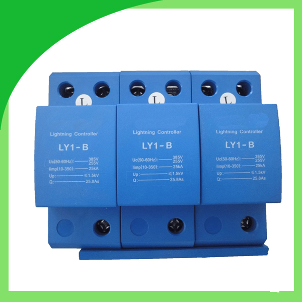 цена на Ly1-B (10/350) 25ka 3pole AC Power Surge Protection Device with Best Supply