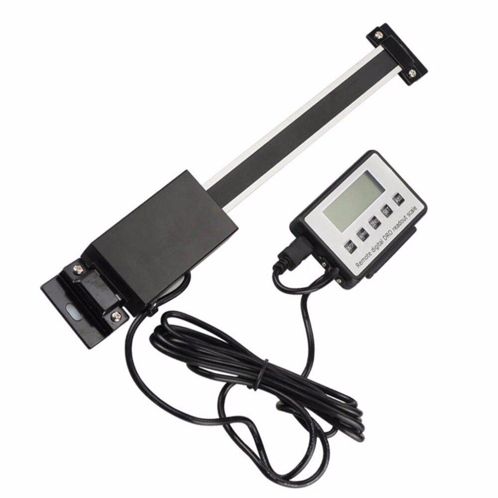 Règle de lecture linéaire numérique taille verticale en option règle d'affichage externe à distance magnétique 0.01mm