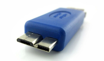 50pcs Micro USB 3.0 OTG Adapter Micro USB 3.0 B Male to A Female Converter for Ultrabook & Samsung Tablet Smart Phone