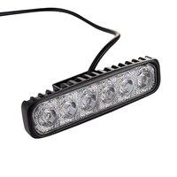 18W Flood LED Work Light ATV Off Road Light Lamp Fog Driving Light Bar For 4x4