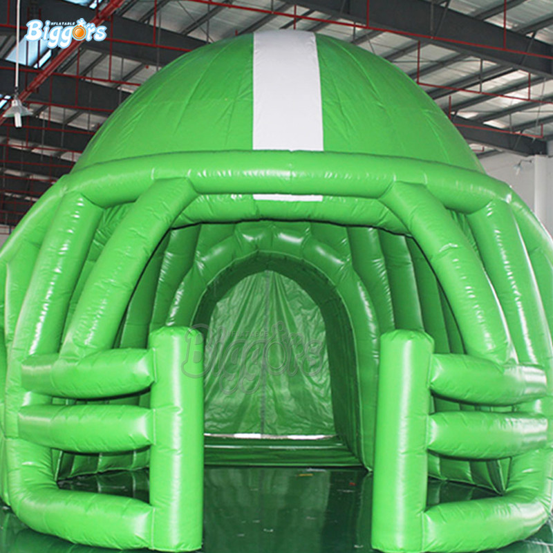 Inflatable Helmet Football Tunnel Football Tunnel Inflatable Tent the tunnel