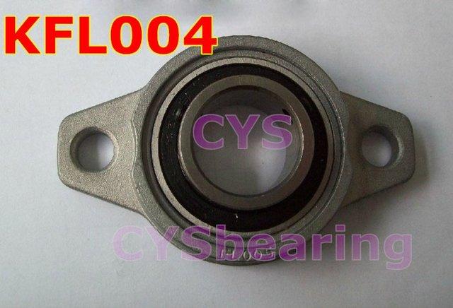 pillow block bearing housing 20mm shaft Zinc Alloy mounted bearings KFL004