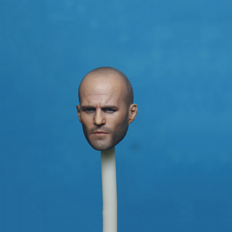1/6 Scale Jason Stenson Tough Guy Head Sculpt for 12 Inches Mens Bodies Figures Dolls Collections Gifts Toys