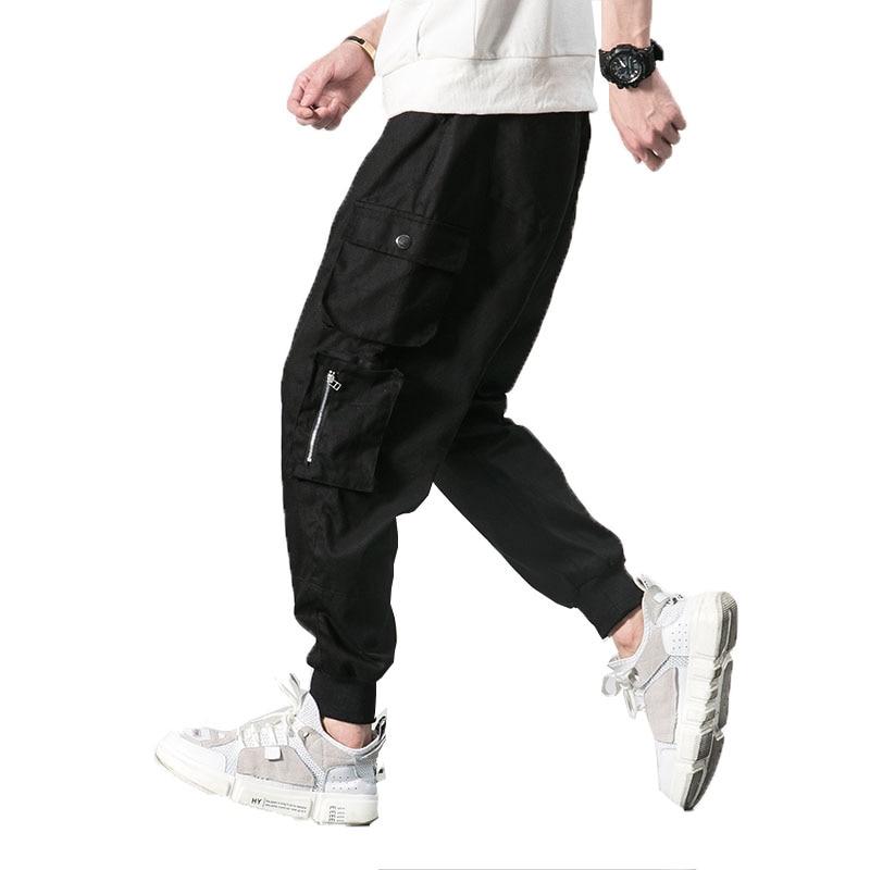 2018 Harem Hosen Männer Armee Cargo Hosen Männlichen Casual Hosen Kordelzug Lange Hosen Hip Hop Lose Herren Jogger Jogginghose M-5xl Verschiedene Stile
