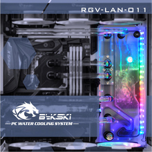 Bykski RGV LAN O11, Waterway Boards Kit para Lian Li PC O11 Dynamic Case, RBW Waterway Board CPU/GPU Water Block Program Kit