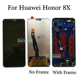 Original pour Huawei Honor 8X JSN-AL00 JSN-L22 JSN-L21 JSN-L23 écran LCD écran tactile numériseur assemblée remplacement avec cadre