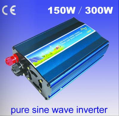 free shipping 150W Off Grid Inverter Pure Sine Wave Inverter DC12V AC 220V output Wind Turbine Inverter ,Solar Inverter solar power on grid tie mini 300w inverter with mppt funciton dc 10 8 30v input to ac output no extra shipping fee