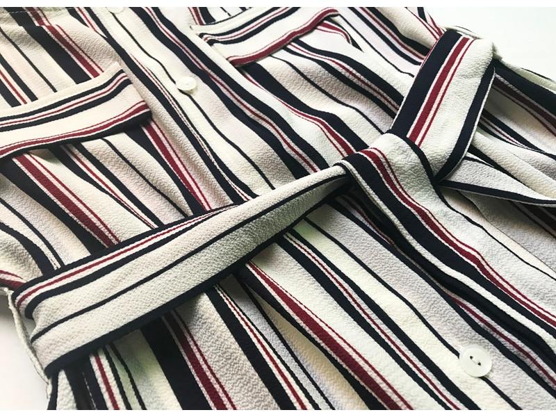 Women Summer Boho Maxi Dresses Large Size Elegant Casual Bohemian Long Stripe Dress Aline Plus Size 2018 Spring 24