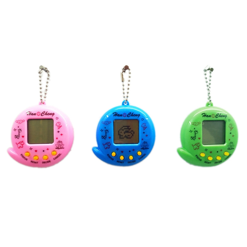 Hot Sell New 90S Nostalgic 168 Pets In 1 Virtual Cyber Pet Toy Tamagotchis Electronic Pet Keychains Toys