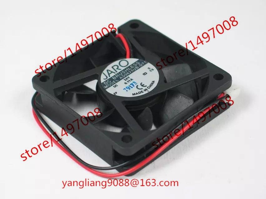 ADDA AD0624UB-D71 DC 24V 0.11A 60x60x15mm Server Cooler Ventilátor