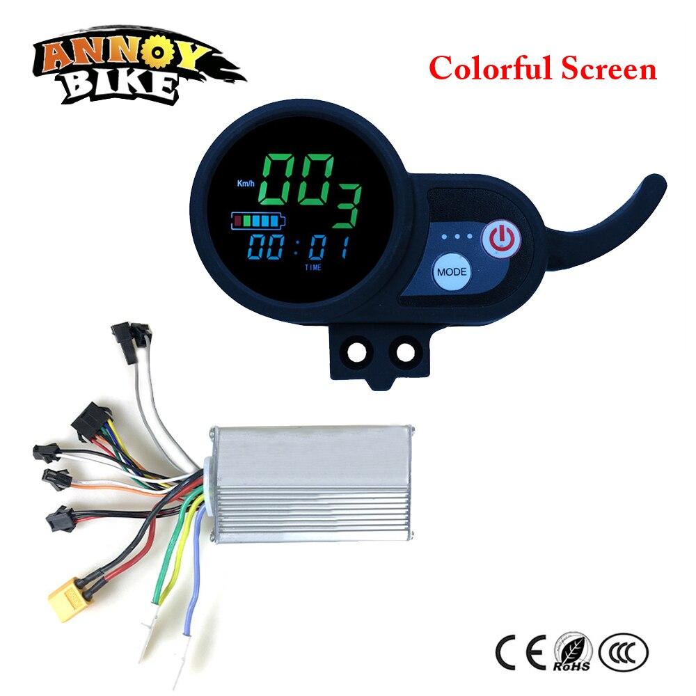 Ebike контроллер 36V48V52V60V Электрический велосипед дисплей ЖК-дисплей для электрического велосипеда красочный экран и синий экран