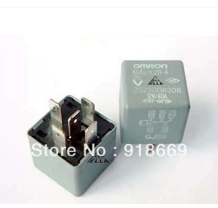 OMRON Automotive Relay KG8J 1C21T R 40A12V Relay Normally Open And - Automotive Relay Normally Open
