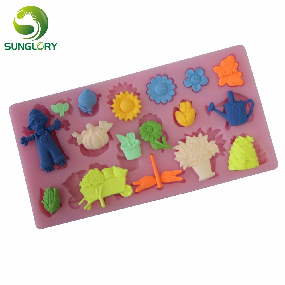 free shipping 1pc rectangle 100% foodgrade 3d silicone cake mold,soap mold,cake decorating fondant mould