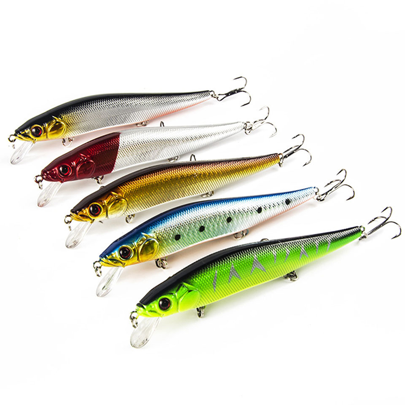 5PCS/Lot Fishing Lure Crankbaits Topwater Hard Bait 14CM 23G Artificial Baits Minnow Fishing Wobbler lifelike earthworm style fishing baits 5 pcs