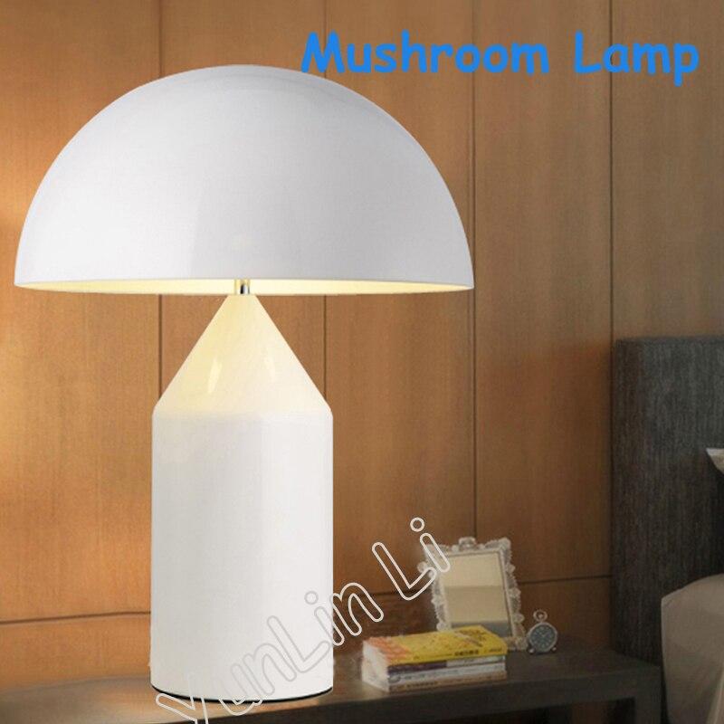 Творческий Настольная лампа Nordic постмодерн Творческий гриб настольная llamps простой Гостиная спальни ночники hgt1114