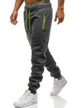ZOGAA Sportswear Pants Casual Elastic Pant Mens Fitness Workout Loosen Sweatpants Trousers Jogger mens sweat pants
