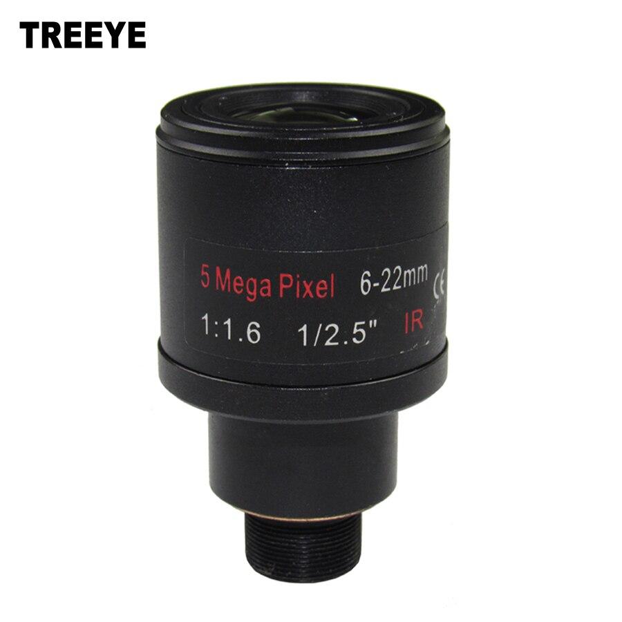 """5.0Megapixel Varifocal 6 22mm CCTV Camera Lens 1/2.5"""" For ..."""