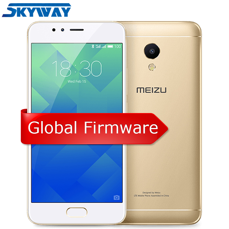 Original MEIZU M5S Octa-core Global Firmware 3GB RAM 16GB ROM Cell Phone 5.2 Inch Fast Charging Mobile Phone(China)