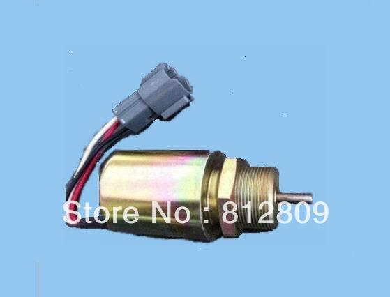 1751ES SA3627, 49874.Fuel Shutdown Solenoid Valve for 223D engine fuel shutdown solenoid valve for 223d engine 1751es sa 3725 24