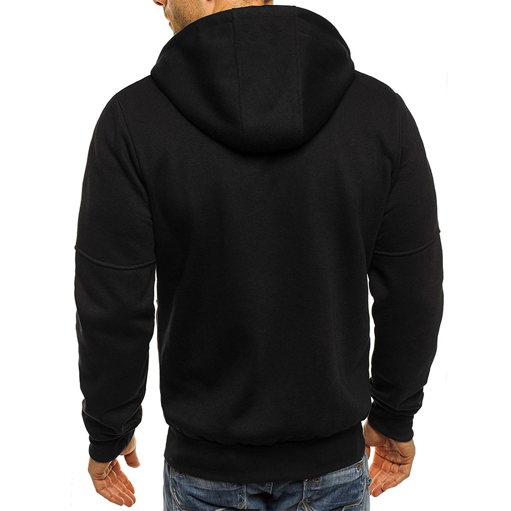 Hoodies Casual Sports Design Spring and Autumn Winter Long-sleeved Cardigan Hooded Men's Hoodie 29