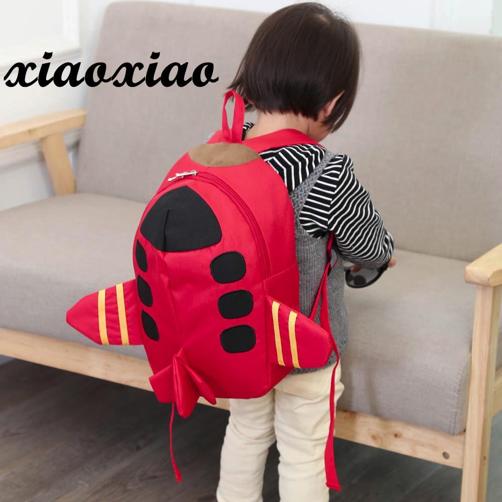2018 Beliebte Nette Kinder Rucksack Für Baby Jungen Mädchen Kinder Flugzeug Muster Tiere Rucksack Kleinkind Schule Tasche Hohe Qualität Herrenbekleidung & Zubehör
