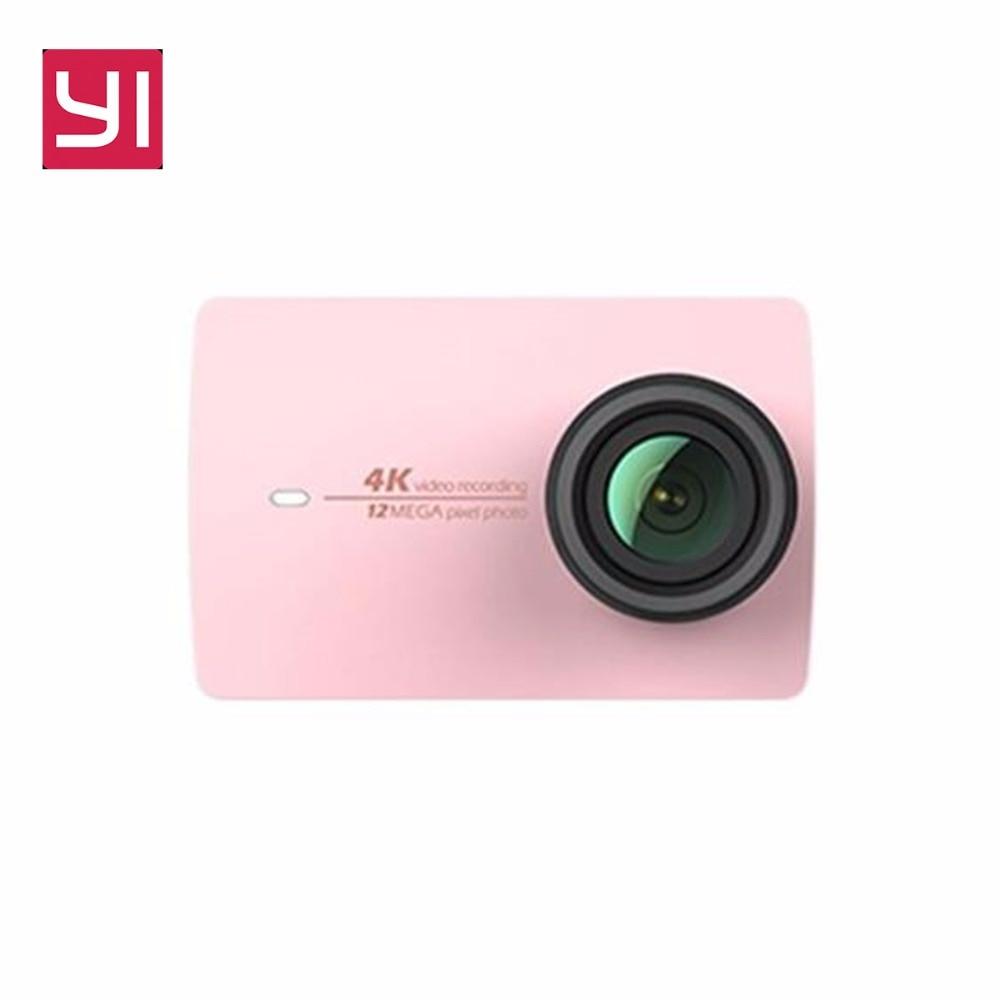 Xiaomi Yi 4k Action Camera Sport Mini Cam Outdoor Kamera Screen Wifi Bluetooth Wide Angle Lens Touch Screen Camaras TF Slo - 4