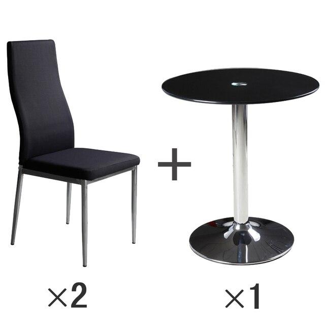 Ikea Sencilla Y Elegante De Cristal Moderna Pequena Mesa Redonda