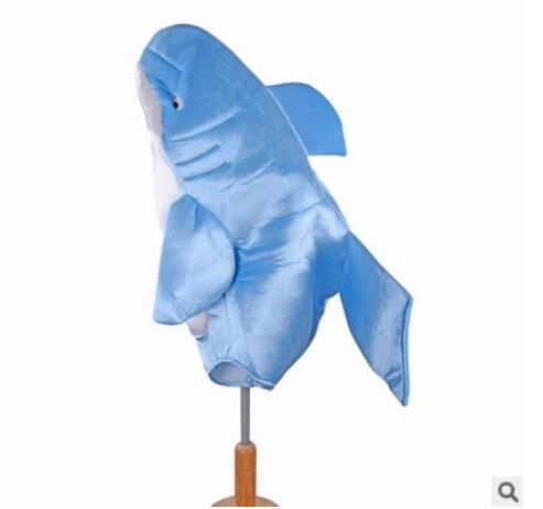 Kids children Attack blue Shark Costume Party Mascot animal Costume Jumpsuit Halloween Fancy Dress Mascotte jumpsuit boy gir