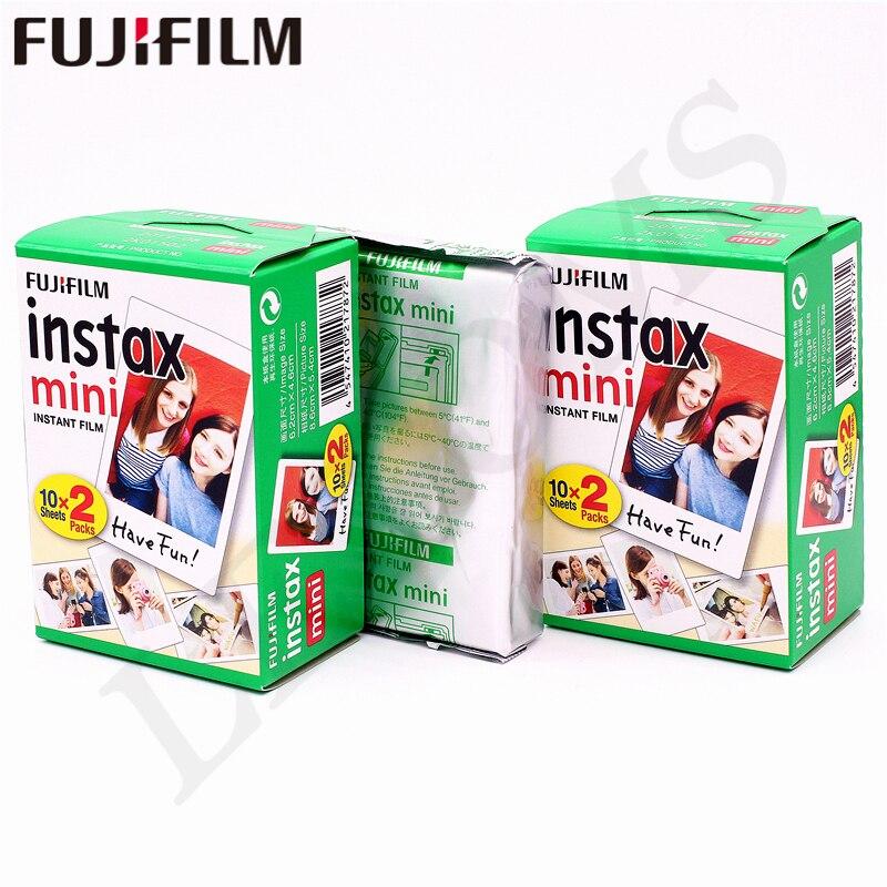D'origine Fuji Fujifilm Instax Mini 8 Film Blanc Bord Papiers Photo Pour Mini 9 7 s 90 25 55 Partager SP-1 Appareil Photo Instantané 50 feuilles - 2