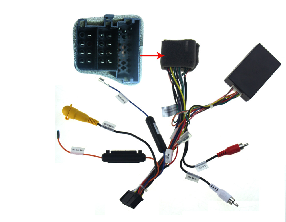 aliexpress com buy automotive radio wiring harness for aliexpress com buy automotive radio wiring harness for aftermarket stereo installation cable canbus from reliable radio wire harness suppliers on