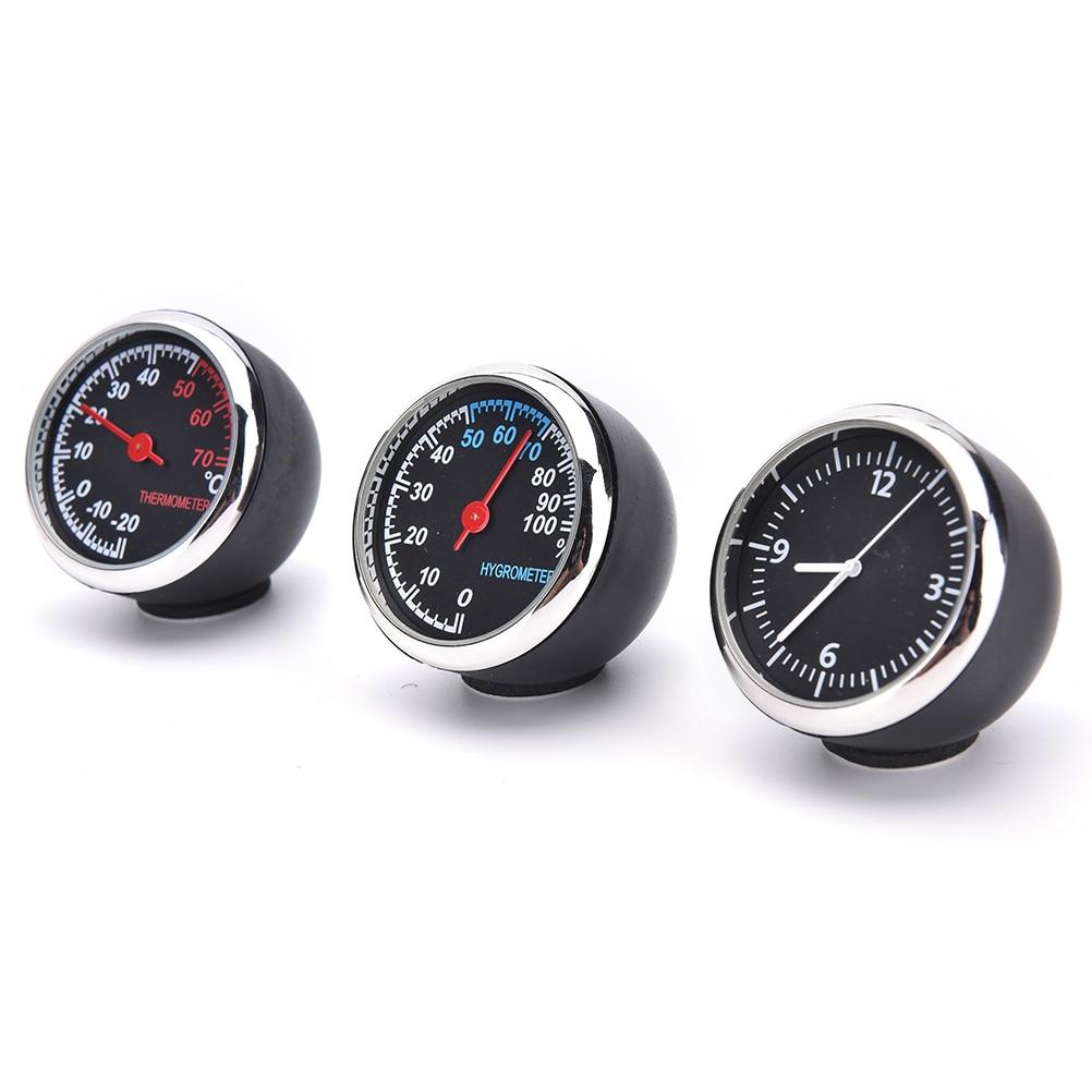 Termómetro digital para coche Higrómetro Reloj de cuarzo mecánico - Accesorios de interior de coche - foto 1