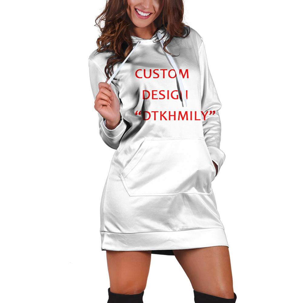 3d All Over Print Custom 3d Printing Women Dress Hoodies Women's Fashion Customsize Design 2019 New Arrive Drop Shipping