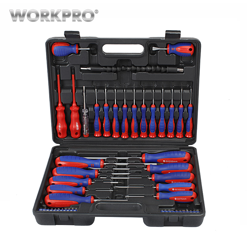 WORKPRO  49PC Screwdriver Set 2019 New Arrival Screwdrivers Precision Screwdriver For Phone Test Pencil