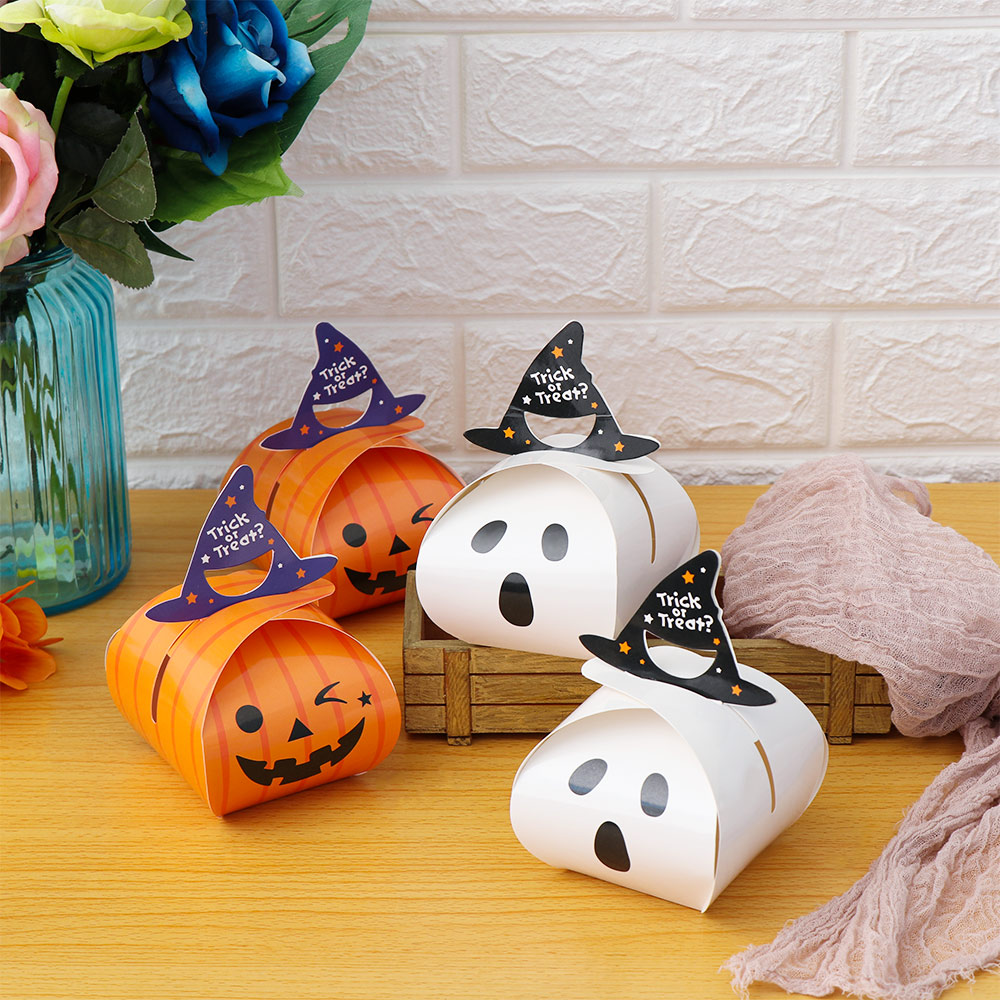5/10PCS Sweets and Candy Bar Packing Pouches Halloween Snacks Bags Wrapping Supplies Kraft Paper Bag for Kids Festival(China)