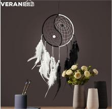 2019 New Arrival China Style Wedding Decorations White Dreamcatcher Home Decoration