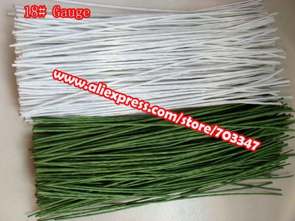 600pcs X 18 Gauge Floral Stem Wire 11 4