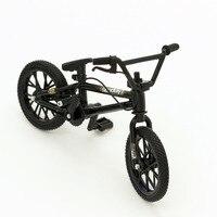 Mini parmak bisiklet oyuncaklar bmx flick trix modeli yetişkin çocuk çocuk boys komik gadgets