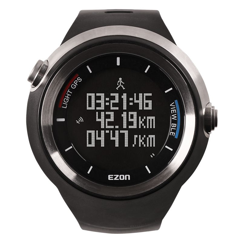 EZON Smart Outdoor Bluetooth GPS Watch Intelligent Hiking Mountian Sport Digital Watches With Altimeter Function For IOS Android smart baby watch q60s детские часы с gps голубые