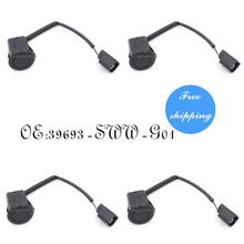 4PCS Rear Centre Parking Sensor 39693-SWW-G01 Reverse PDC Sensor Aid H4H7 For HONDA CRV 2007-2012