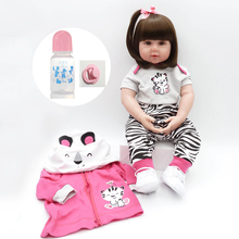 Beautiful Long Hair Princess Girl Lucy Doll Cm Baby Reborn Cotton Body Silicone Doll Reborn Cute